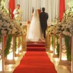 fotos de decoração de casamento na igreja 4