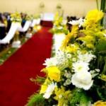 fotos de decoração de casamento na igreja 6