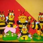decoração em espuma para festa infantil