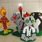 decoração em espuma para festa infantil 2