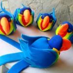 decoraçao de festa infantil com espuma 1