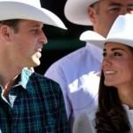 Príncipe usando chapeu country