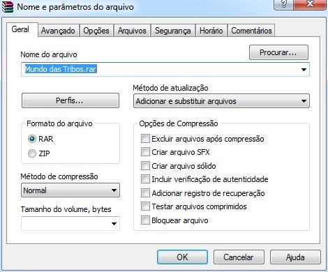 WinRAR, o Melhor Compactador de Arquivos