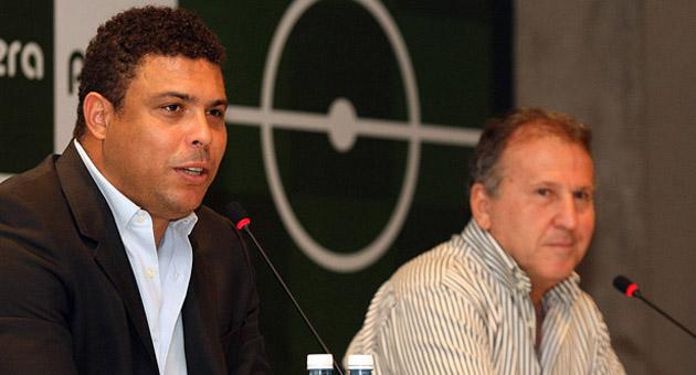 Lançamento da Rede Social de Ronaldo e Zico