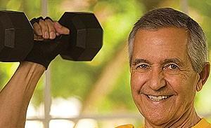 Musculação ajuda a combater doenças