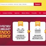 Recompensas por cada compra online no site Meliuz