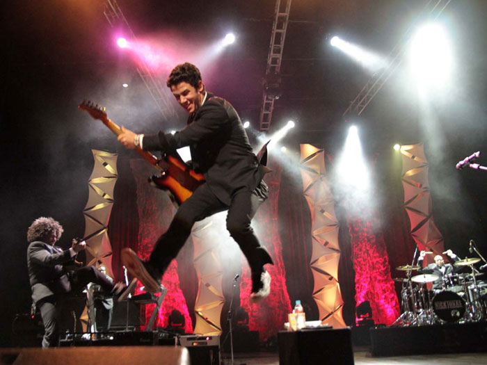 Turnê de Nick Jonas pelo Brasil