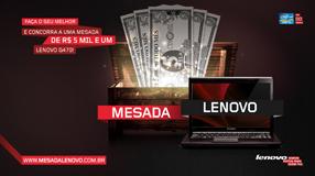 Promoção mesada Lenovo