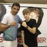 Minotauro com Justin. Foto: Felipe Panfili/ AgNews