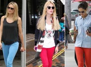 Aprenda a usar jeans colorido