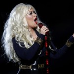 Christina Aguilera canta em homenagem a Jackson. Foto: Reuters