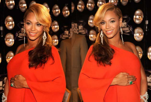 Beyoncé levanta suspeitas de barriga falsa