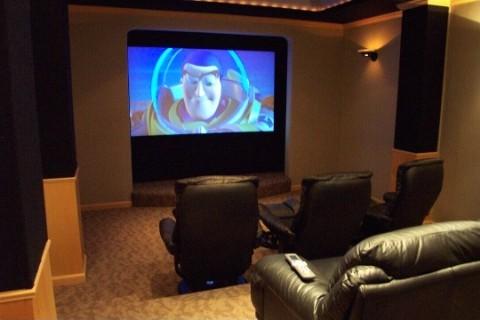 Aprenda a montar uma sala de cinema em casa