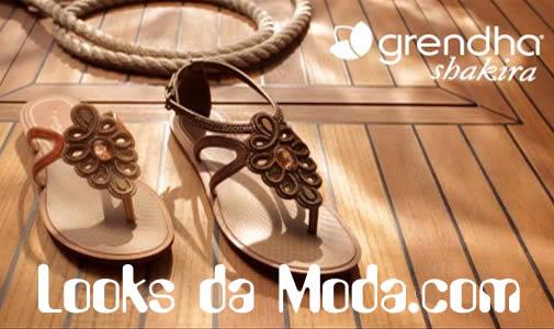 Sandálias Grendha Shakira: coleção verão 2012