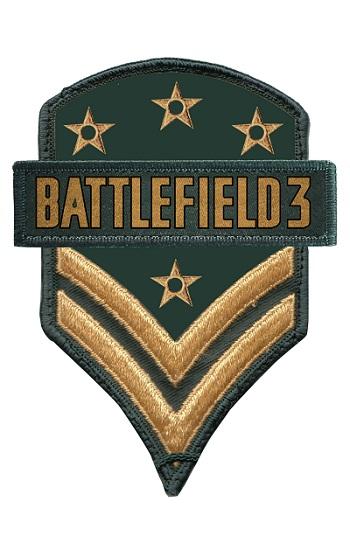 Fãs ganharão patches bordados em pacote nacional de Battlefield 3