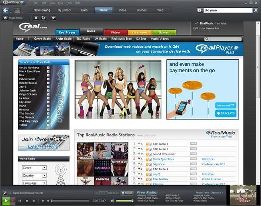 RealPlayer SP, um player social e portátil