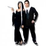 Gomez e Mortícia são uma ótima alternativa para casais neste Halloween. (Foto: Divulgação)