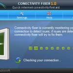 Connectivity Fixer resolve os problemas da sua internet