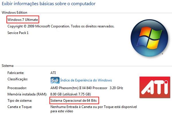 Como descobrir qual versão do Windows eu uso?