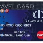 Cartão Mastercard Travel Card