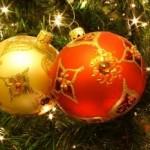 Bolas decoradas para árvore de Natal. (Foto: Divulgação)