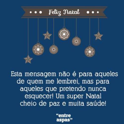 Mensagens De Natal Para Amigos E Familiares