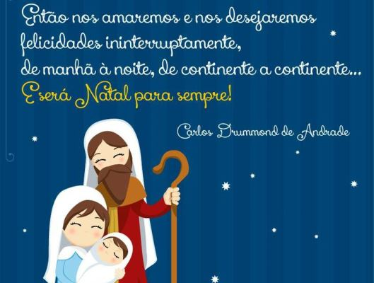 Mensagens de natal para amigos e familiares. (Foto: Divulgação)