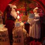 Vitrines decoradas para o natal