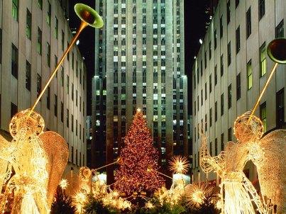 Lugares para visitar com decoração de Natal