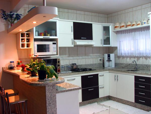 Modelos de cozinhas decoradas