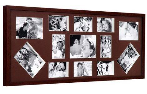 Várias fotos em um quadro
