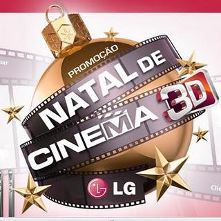 Promoção LG Natal de Cinema 3D