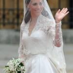 Kate Middleton no seu casamento Real (Foto:Divulgação)