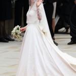 Kate Middleton a caminho do altar (Foto:Divulgação)