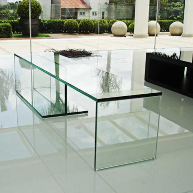 Aparador para sala de vidro