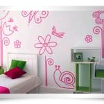 Quarto com as paredes pintadas (Foto:Divulgação)