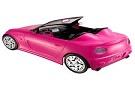 Corrida com carro da Barbie