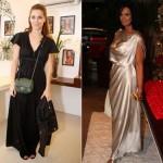 Brasileiras com vestidos para a noite (Foto:Divulgação)