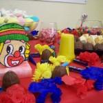 Festa de aniversário decorada com o tema Patati Patata