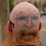 Tatuagem de face na careca (Foto:Divulgação)