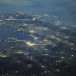 Foto tirada pela Estação Espacial Internacional (Foto:Divulgação)