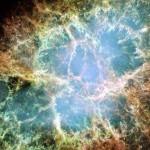 Restos da explosão de uma Nebulosa do Caranguejo