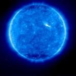 Sol, tirada pelo telescópio de Ultra-violetas SOHO (Foto:Divulgação)