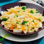 Salada de macarrão, acompanhamento para a ceia
