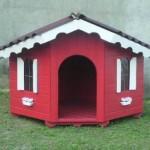 Casinhas para cachorro - modelos, idéias 4
