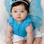 Bebê fantasiada de borboleta (Foto:Divulgação)