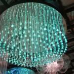 Luzes de fibra óptica