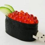 Pen drive de sushi (Foto:Divulgação)