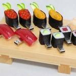 Pen drive de sushis variados (Foto:Divulgação)