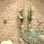 Lindo papel de parede floral